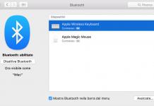 Come impostare una tastiera o un mouse Bluetooth sul vostro Mac