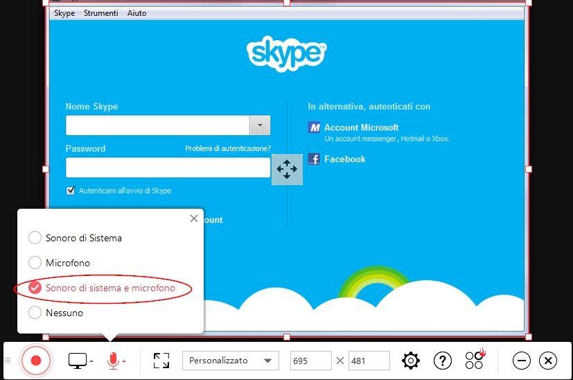 Come registrare le chiamate Skype su Windows 10