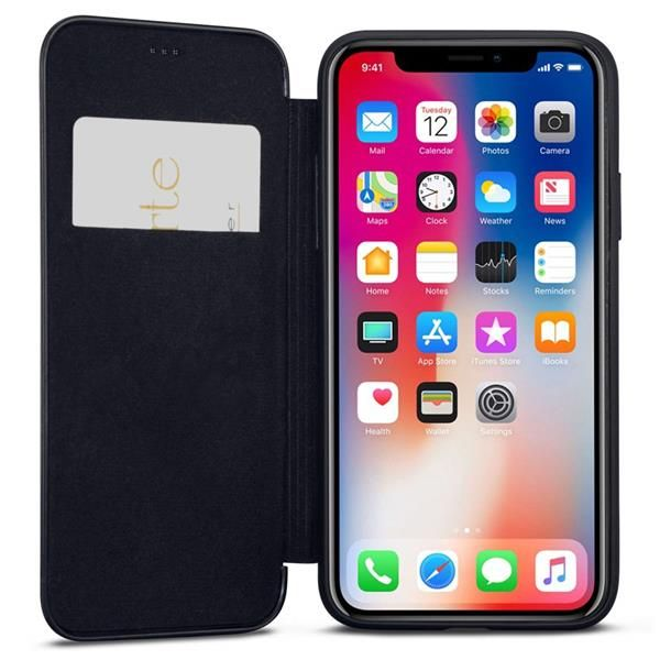 Migliori cover iPhone XR: Custodia Caseza in similpelle