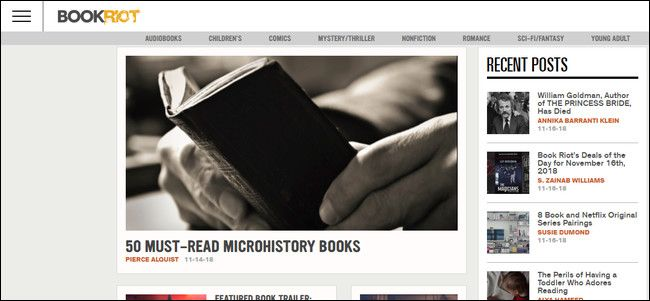 I migliori siti gratuiti per gli amanti dei libri
