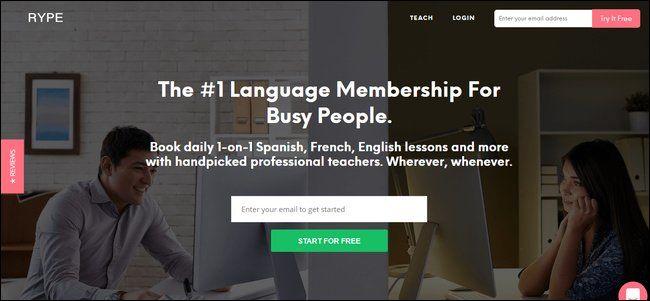 I migliori siti web per l'apprendimento di una nuova lingua