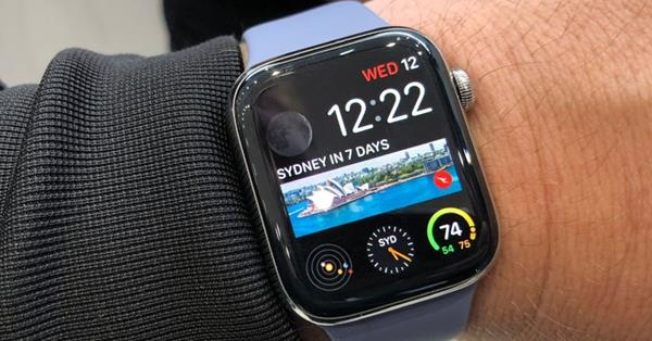 Recensione Apple Watch serie 4: Software