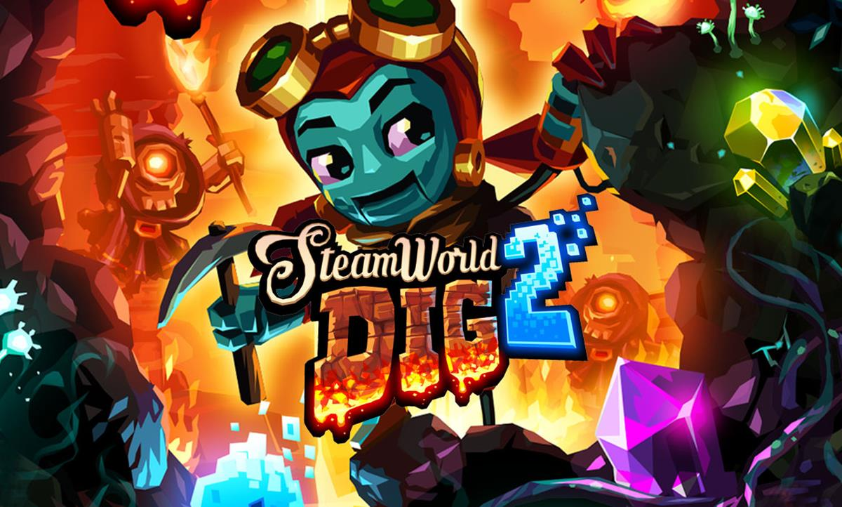 Migliori giochi retrò Nintendo Switch: SteamWorld Dig 2