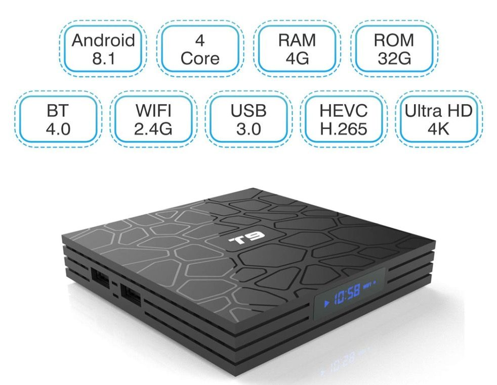 turewell t9 tv box più venduto su amazon