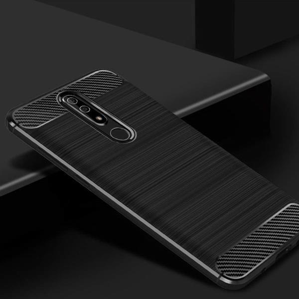 Migliori cover Nokia 5.1 Plus: Custodia Fitmore con finiture in pelle