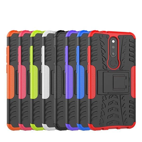 Migliori cover Nokia 5.1 Plus: Custodia LFDZ in TPU e PU antiurto