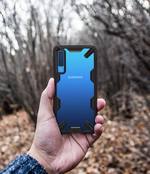 Migliori cover Samsung Galaxy A7 2018: Custodia Ringke con certificazione militare