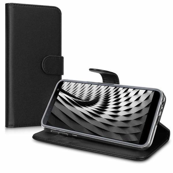 Migliori cover Samsung Galaxy J6+: Custodia kwmobile a libro