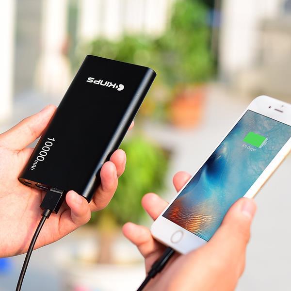 Migliori accessori Android che ti migliorano la vita: Power Bank Kinps