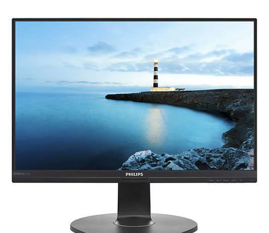 recensione monitor Philips 241B7QUPBEB - fronte