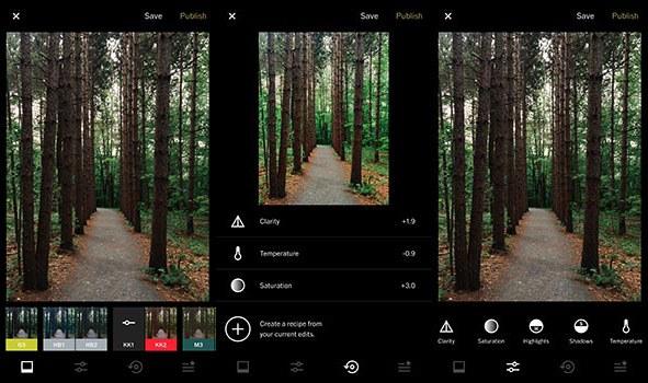 4 migliori app di editing fotografico