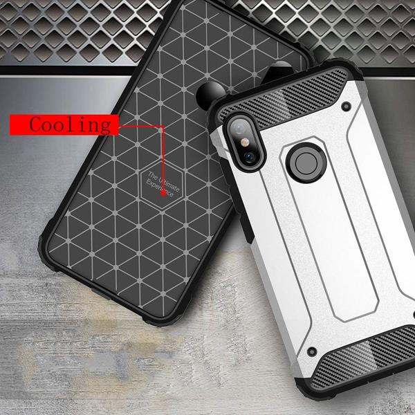 Migliori cover Xiaomi Redmi Note 7: Custodia HUUH in TPU e PC