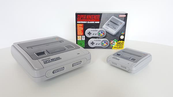 Migliori console per videogiochi classici: SNES Classic Mini