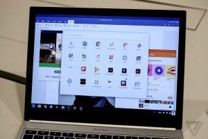 Il sistema operativo Chrome OS in un PC.
