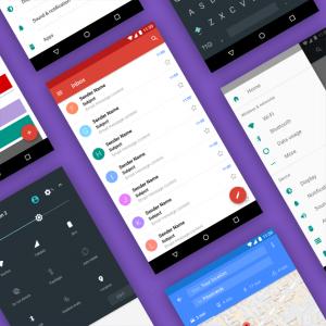 L'interfaccia utente di Android: alcuni elementi.