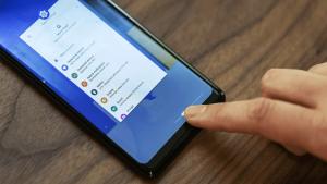 Un esempio delle gesture di Android