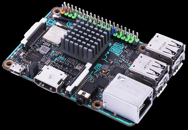 Migliori alternative a Raspberry Pi: Asus Tinker Board