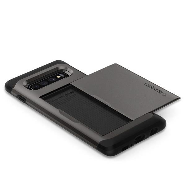 Migliori cover Samsung Galaxy S10: Custodia Spigen a portafoglio