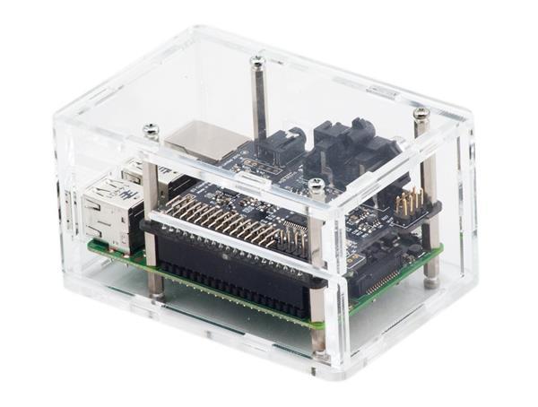 Migliori case per Raspberry Pi: Custodia trasparente ModMyPi