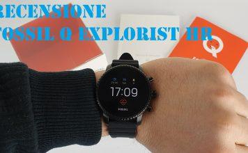 Fossil Q Explorist HR copertina