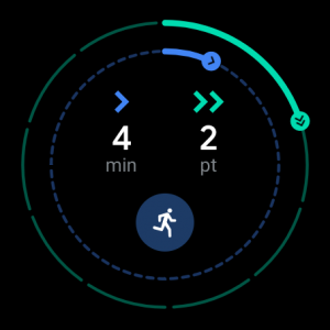 Fossil Q Explorist HR - screen google fit