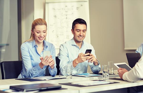 Gli smartphone per il lavoro