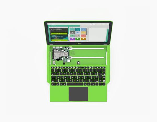 Migliori kit Raspberry Pi: Laptop Pi-Top 2