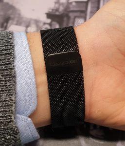Recensione UMIDIGI UWatch - bracciale maglia milanese
