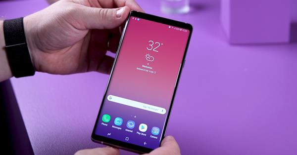 Migliori smartphone business: Samsung Galaxy Note 9