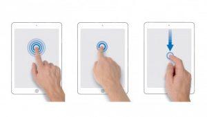 Gesture iOS