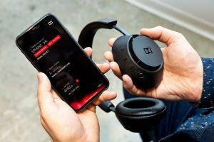 L'applicazione olby e Dimension Headphones