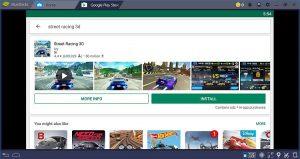 La pagina principale di Google Play Store