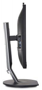 monitor Philips 272P7VPTKEB - lato con porte usb