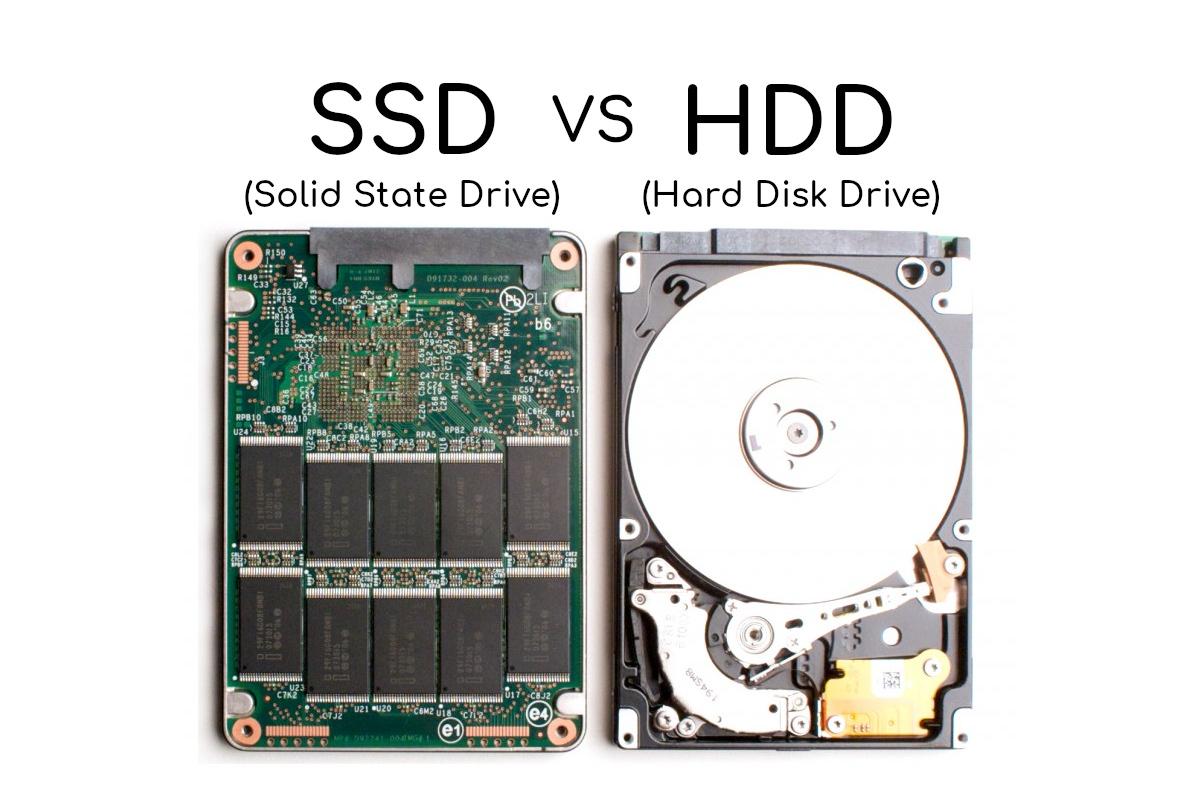 La differenza tra SSD e HDD