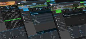 schermata di un provider