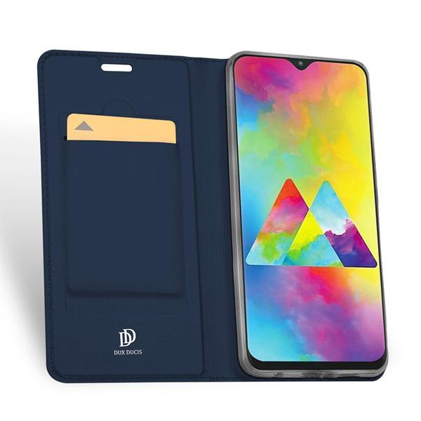 Migliori cover Samsung Galaxy M20: Custodia Dux Ducis in Pelle PU