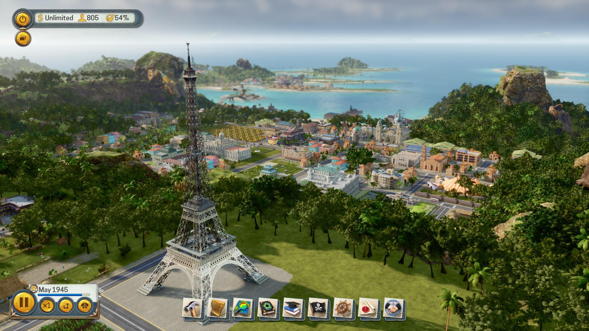 Una scena tratta da Tropico 6 per Mac