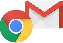 Chrome e Gmail