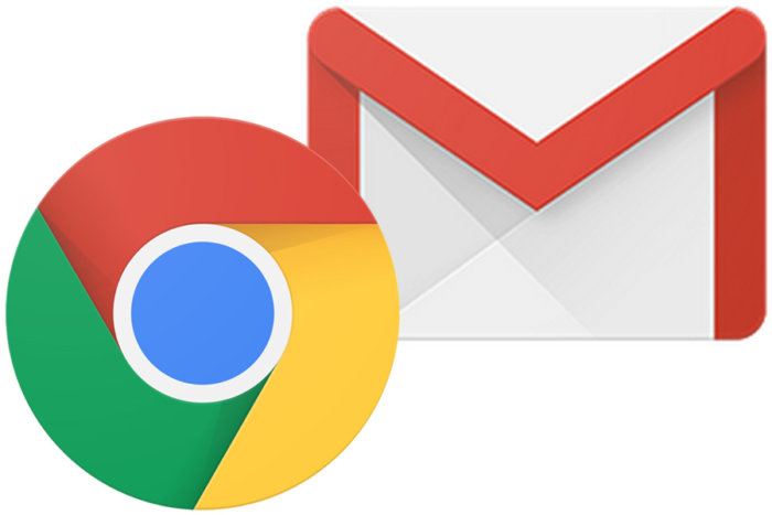 Chrome e Gmail