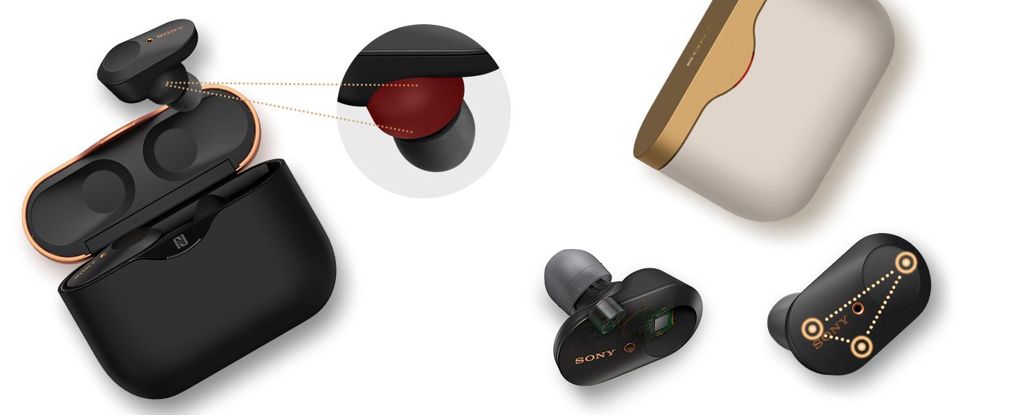 Gli auricolari Sony WF-1000XM3