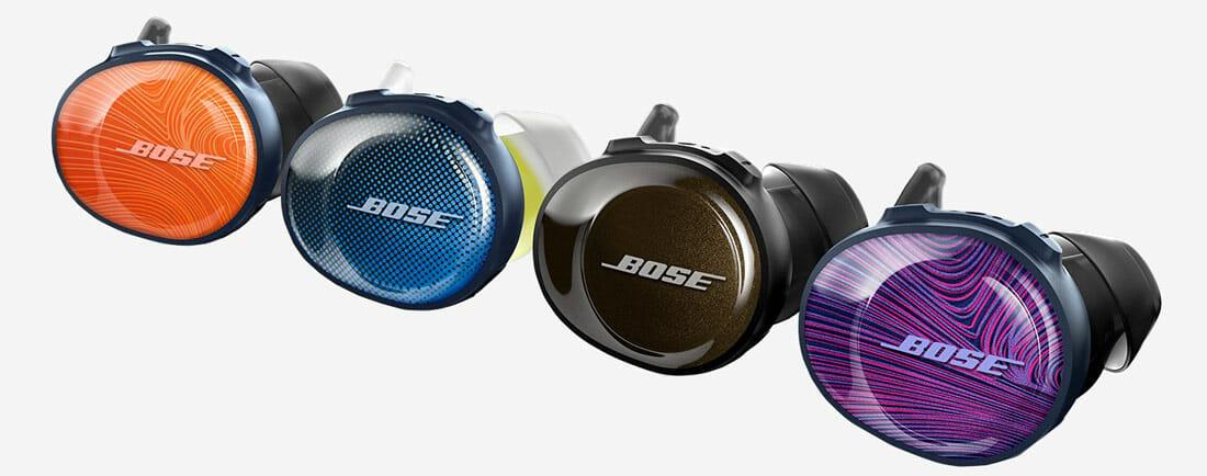Gli auricolari Bose SoundSport Free