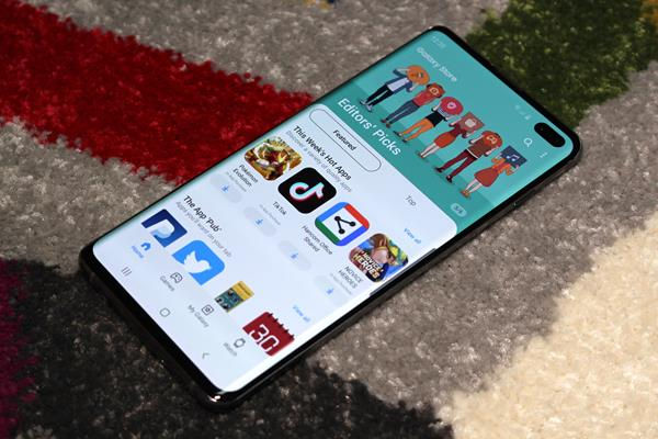 Recensione Samsung Galaxy S10+: Software