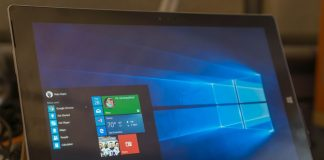 Un PC con Windows 10