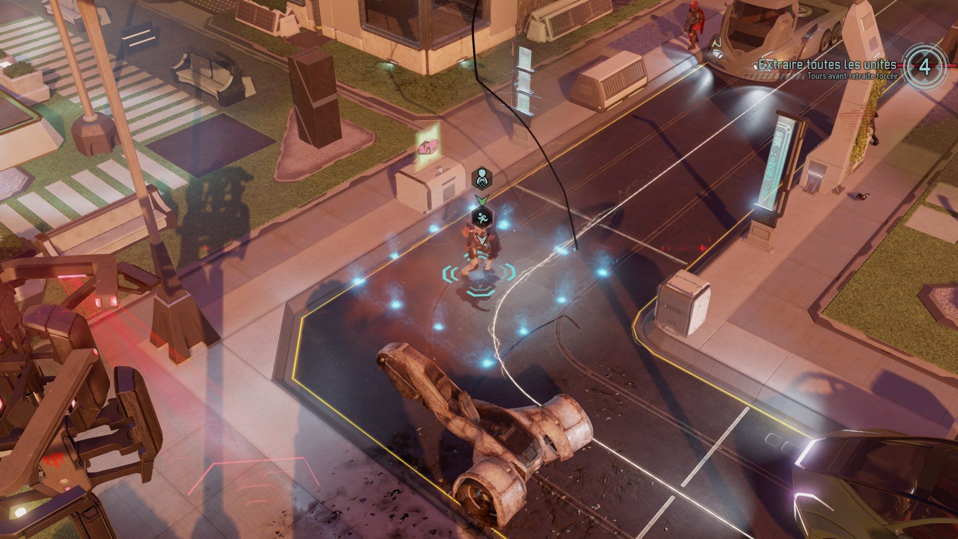 Una scena tratta da XCOM 2 per Mac