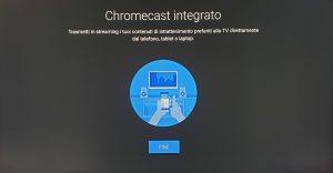 xiaomi mi box s chromecast integrato