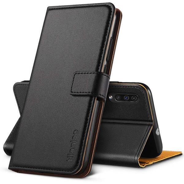 Migliori cover Samsung Galaxy A50: Custodia Hianjoo in pelle