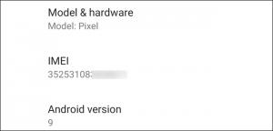 IMEI nei Pixel