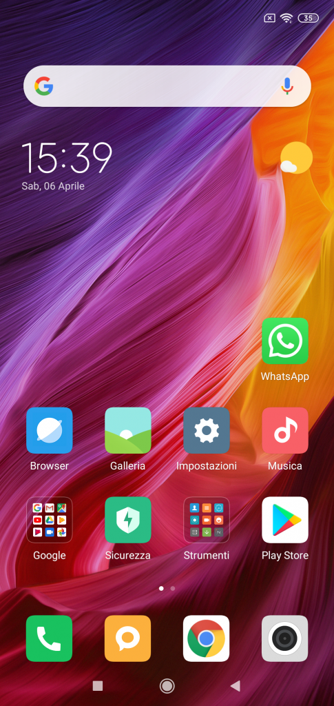 Xiaomi Mi8 Lite Global - screenshot miui 10 android 9 -1