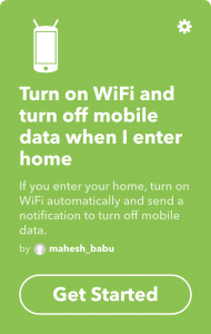 attiva il wifi appena arrivi a casa grazie a questa applet