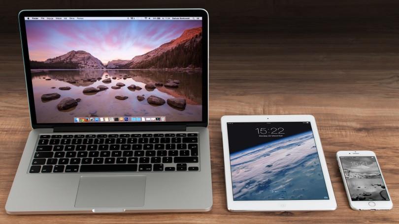 iphone, ipad e mac